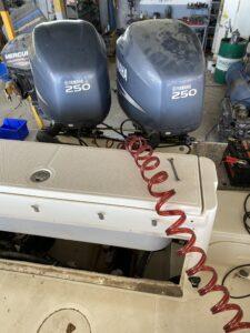 Seastar Hydraulic system Purging